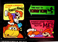 Donkey Kong / Super Mario - Sticker - Nintendo 1982 / Game & Watch