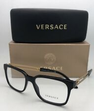 f57d252071 item 7 New VERSACE Rx-able Eyeglasses VE 3218 GB1 53-17 140 Black Frames  w Gold Temples -New VERSACE Rx-able Eyeglasses VE 3218 GB1 53-17 140 Black  Frames ...