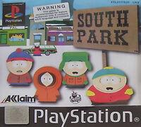 South Park (Sony PlayStation 1, 1999) - European Version
