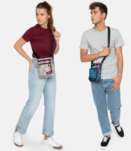 "EASTPAK Borsa Tracolla a tracolla bag borsa /""Rusher/"" Double Denim Jeans Blu"