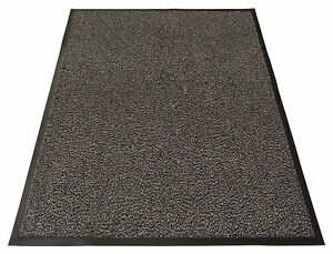 Large Grey Heavy Duty Large Barrier Mats Carpets Rugs