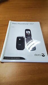 doro phone easy 607 printed instruction manual user guide 63 pages rh ebay co uk Quick Reference Guide doro phoneeasy 607 user guide