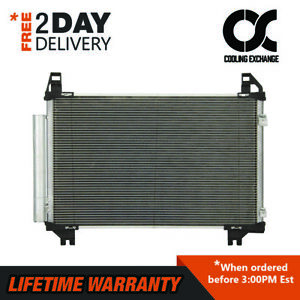 AC Condenser For Toyota Yaris 1.5 Scion xD 1.8 3580