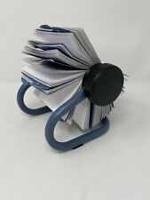Vintage Rolodex Flip Stand Address Phone Contact Business Card File 225x 4