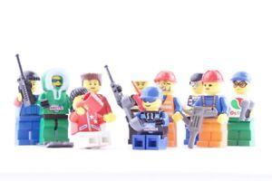 10-LEGO-City-Figuren-Set-Konvolut-Minifiguren-komplett-mit-Zubehoer