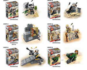 Baukaesten-6PCS-Desert-Eagle-Militaer-Soldat-Kinder-Waffen-Spielzeug-Mini-Geschenk