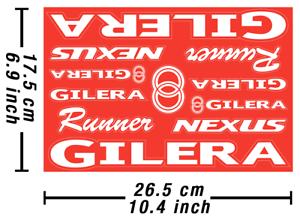 Gilera-Decals-stickers-Motorcycle-vinilo-autocollant-pegatinas-adesivi-617