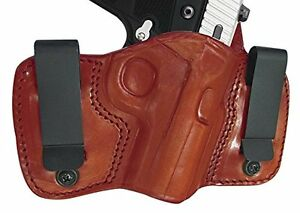 Tagua-GunLeather-DCH-167-Taurus-TCP-w-CT-Laser-Holster-Brown-Right-Hand-NEW