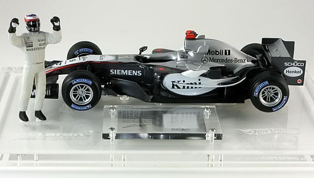 1 18 Hot Wheels McLaren Mercedes MP4 20 2005 Kimi Raikkonen G9753