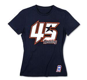 Redding Nuovo 1257 Blu 02 T Da Ufficiale Ts Donna Scott Shirt Srw qErpvagE