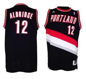 best service 47032 01d98 Image is loading New-NBA-Portland-Trail-Blazers-Lamarcus-Aldridge-12-