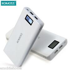 ROMOSS Sense 6 LCD 20000mAh External Battery Pack Power Bank for Mobile Phones