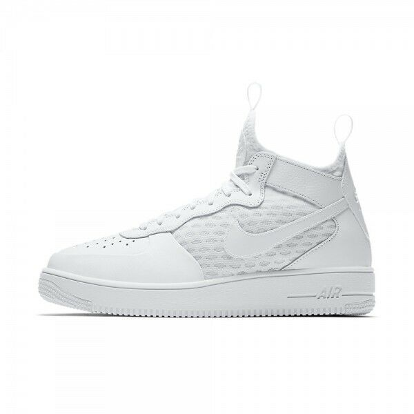 Nike Men Air Force 1 Ultraforce Mid Triple AF1 shoes White 864014-100 US7-11 04'