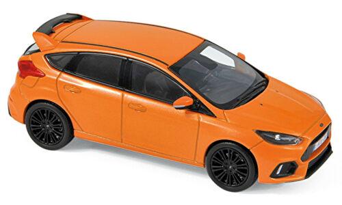 Ford Focus RS 2016-18 orange metallic 1:43 Norev