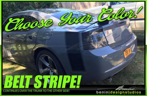 Bumble Bee Belt Stripe FITS 2006-2011 Charger SRT-8 RT SXT Graphics 1