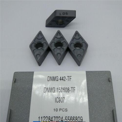 10pcs//pack  ISCAR DNMG442-TF IC907 DNMG150608-TF IC907 Carbird Inserts 10pcs