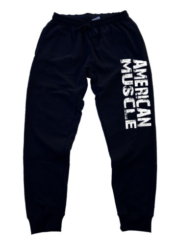 Men/'s American Muscle Jogger Training Gym Workout pants beast bodybuilding gain