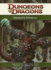 monster manual 2 4 0 d d dungeons dragons 4th ed 4e core rules ii rh ebay com monster manual 1st edition youblisher monster manual 1e pdf