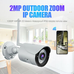 Outdoor 1080P HD Security IP Wireless Wifi IR Night Vision Home Network Camera