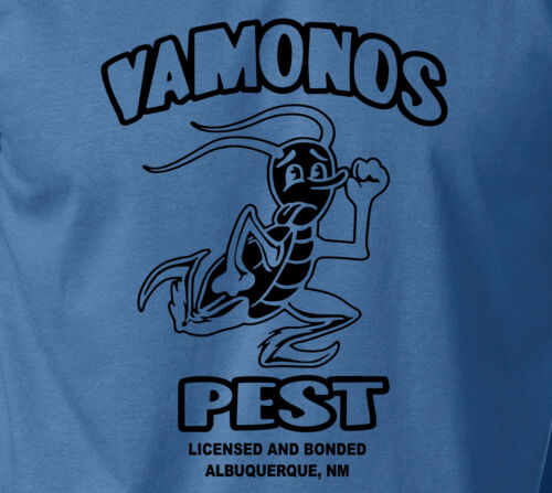 Ringspun Cotton Tee Breaking Bad T-Shirt VAMONOS PEST TV Bryan Cranston Mafia