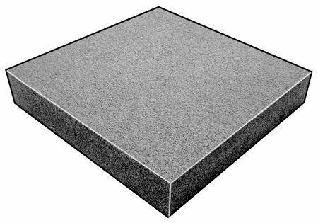 ZORO SELECT 5GCF4 Foam Sheet,Ethylene Vinyl,1//2 x12 x12 In