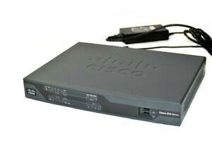 Cisco-Model-891-CISCO891-K9-V02-Gigabit-Ethernet-Security-Router-w-Power-Supply