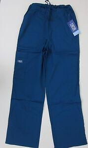 Cherokee-Workwear-Core-Stretch-Scrubs-Caribbean-Blue-NWT