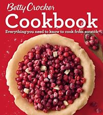 Betty Crocker Cookbook, 12th Edition : Everything You Need to Know to Cook from Scratch by Betty Betty Crocker (2016, Ringbound)