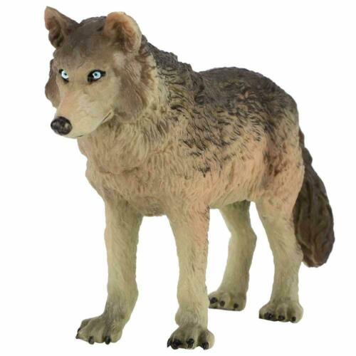 Simulation Wolf Animal Model Figure Kids Toy Story for Telling Teaching Props BS