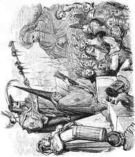 Gustave Dore gigantón Pantagruel 010 A4 Foto impresión