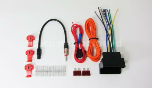 NON AMPLIFIED 09-12 PORSCHE 987 BOXSTER AFTERMARKET RADIO WIRING HARNESS KIT