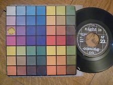 """Polyphonic size-Night is coming on-VINILE, 7"""" single, Belgium 1983, VG + +"""