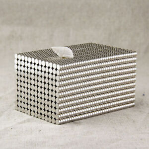 100-Stk-Starke-Neodym-Magnete-N50-Rund-Magnet-Fuer-Pinnwand-Kuehlschrank-set
