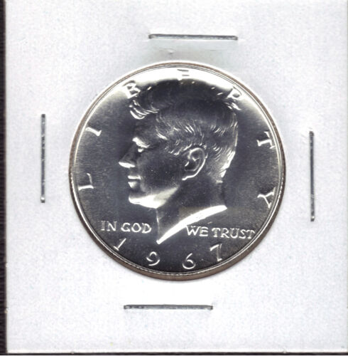 1967 40/% SILVER SMS SPECIAL MINT SET UNCIRCULATED KENNEDY HALF DOLLAR