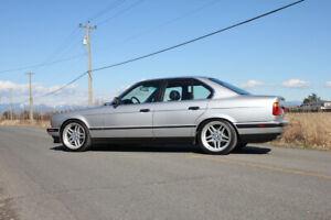 1994 BMW E34 540i - Collector Plates!