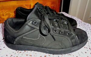 eba3cb589cd3a4 AIR JORDAN Sky High  454076-020 Low Black Suede Basketball Shoes Sz ...