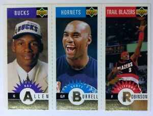 1996-96-UD-Collectors-Choice-Gold-Mini-Cards-Ray-Allen-Rookie-RC-M136-Parallel