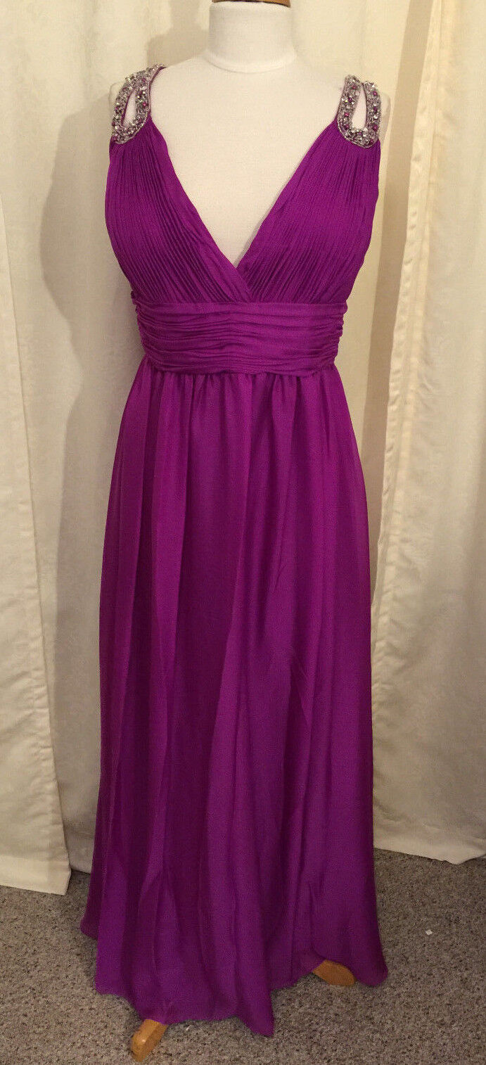 Magenta Sexy Pageant Prom Cocktail Dress Homecoming
