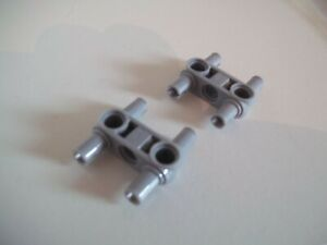 Pin Connector Perpendicular 3L w 4 Pins 48989 LIGHT GRAY LEGO Parts~2 Technic