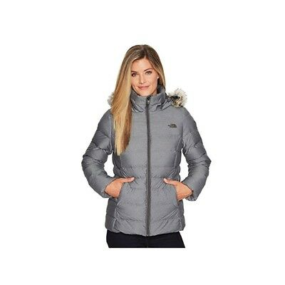 The North Face Women's Gotham II Jacket in TNF Medium Grey Heather Sz S-XL NEW