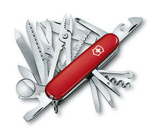 Red Victorinox SwissChamp Swiss Army Pocket Knife Folding Victornox Multi-Tool