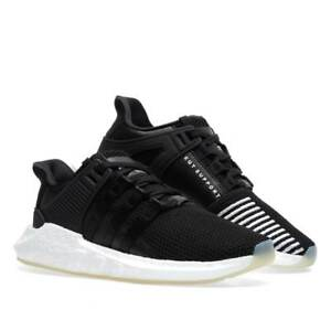 d77df064aee Details about Men's adidas Eqt Support 93/17 off white black BZ0585 Mens  Boost Running Shoes