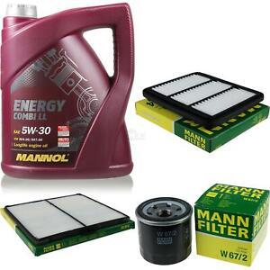 Motor-Ol-5L-MANNOL-5W-30-Combi-LL-MANN-FILTER-Chevrolet-Matiz-M200-M250-0-8-LPG