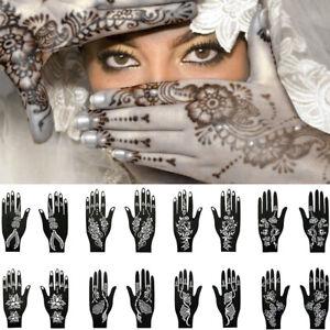 Tattoo-Stencils-Henna-Template-Sticker-Temporary-Hand-DIY-Body-Art