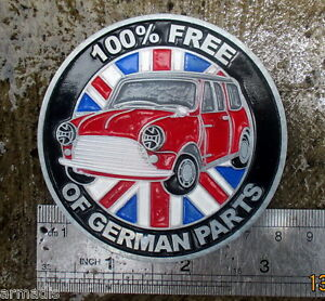 Morris Mini Cooper Badge Vintage Accessory Clubman Price For Sale S