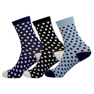 3-Pairs-Supersoft-Ladies-Bamboo-Socks-Thermal-Sock-UK-3-7-EUR-35-40-Dots
