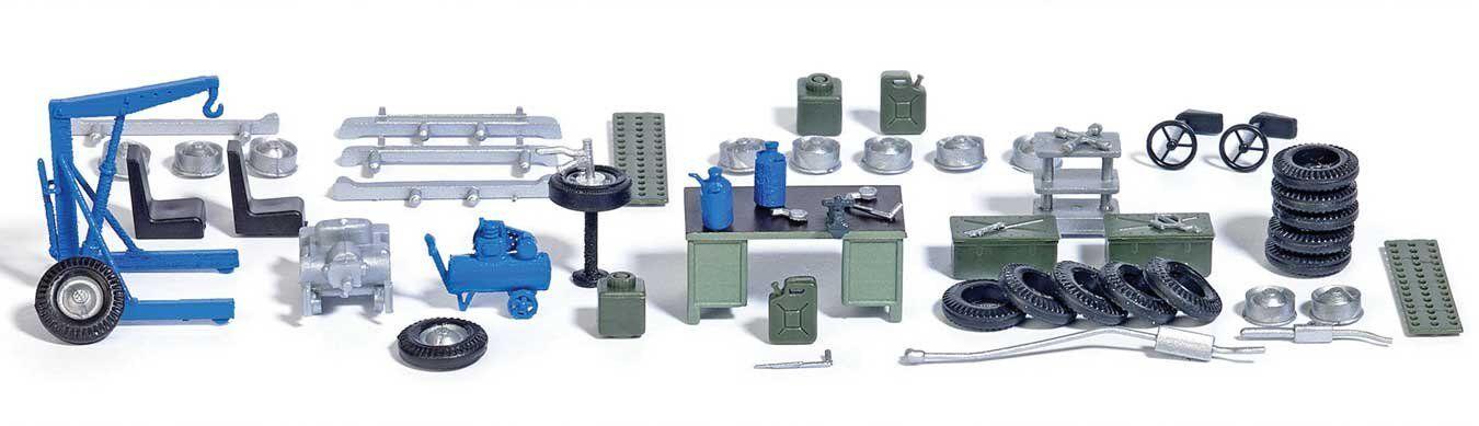 Auto-atelier de petites pièces, Piste h0, Walthers Modèle 1 87, 949-4167