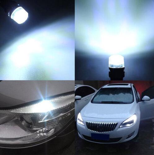 2pcs  Car T10 W5W 194 168 LED COB Canbus Error Free Side Lamp Wedge Light Bulb