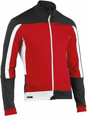 Northwave Sonic Winter Cycling Jacket Red / Black