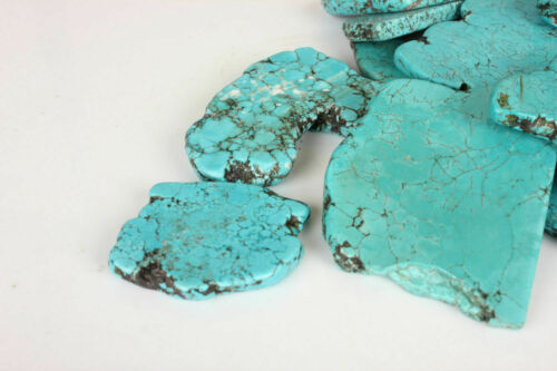 Stabilized Mine Blue Kingman Loose Gemstone Natural Turquoise Rough 1000 Ct